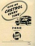 100 lat współpracy Castrol-Ford: reklama Castrol dla Ford