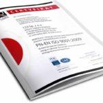 Biuro Tłumaczeń 123Tlumacz.pl uzyskało certyfikat ISO 9001:2009