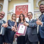 GROHE Polska na liście najlepszych miejsc pracy w Polsce