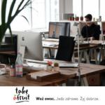 4 sposoby na zdrowie w pracy