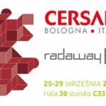 Radaway wśród 7 polskich wystawców na tegorocznych targach CERSAIE