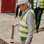 Wmurowanie kamienia węgielnego pod nowy zakład i centrum logistyczne firmy TECE