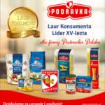 Lider XV-lecia – wyjątkowy Laur Konsumenta dla Podravka Polska