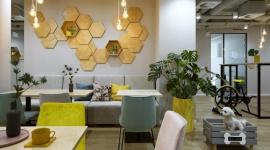 KREATYWNA PRZESTRZEŃ DO PRACY OD CAPITAL PARK BIZNES, Firma - Bee Creative to nazwa nowego, autorskiego konceptu coworkingowego, który Grupa Capital Park wprowadziła w jednym ze swoich flagowych projektów - biurowcu Royal Wilanów w Warszawie.