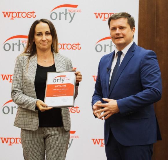 """Tikkurila Polska SA z tytułem """"Orła WPROST 2019"""" BIZNES, Firma - Tikkurila Polska SA została wyróżniona tytułem """"Orła WPROST 2019""""."""