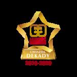DPD Polska z tytułami Gwiazda Jakości Obsługi Dekady 2010 – 2020 oraz Gwiazda Ja