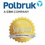 Nagroda Superbrands Polska 2020 dla marki Polbruk