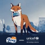 Foxy wspiera UNICEF w walce z koronawirusem