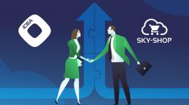 Grupa iCEA i Sky-Shop.pl - razem ku kompleksowym usługom dla e-commerce BIZNES, Firma - Chęć świadczenia usług najwyższej dla polskiego e-commerce przyciągnęła do siebie Grupę iCEA oraz Sky-Shop.pl. Nawiązane partnerstwo pozwoli właścicielom e-sklepów nie tylko na korzystanie z nowoczesnej platformy, ale również na skuteczny marketing online.