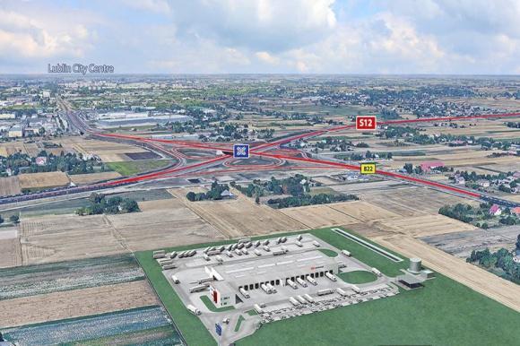 DB Schenker otworzy nowy terminal na Lubelszczyźnie BIZNES, Firma - DB Schenker, wiodący operator logistyczny, przenosi operacje z obiektu w Lublinie do nowoczesnego terminala przeładunkowego, który powstanie w świdnickiej Strefie Aktywności Gospodarczej • Nowy, ekologiczny terminal rozpocznie działalność w IV kwartale 2020 roku