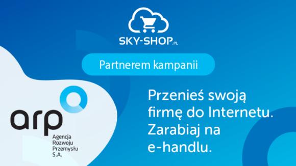 ARP i Sky-Shop.pl przenoszą sklepy do Internetu! BIZNES, Firma - Już dziś małe i średnie sklepy szybko i sprawnie przeniosą się do Internetu. Wszystko za sprawą kampanii prowadzonej przez ARP, której partnerem jest platforma sklepów internetowych Sky-Shop.pl. Na przedsiębiorców czeka praktyczna wiedza o e-commerce i atrakcyjne rabaty.