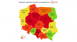 Wskaźnik rzetelności polskich przedsiębiorstw BIZNES, Firma - Rzetelna Firma w oparciu o dane Krajowego Rejestru Długów sprawdziła rzetelność polskich firm. Tegoroczny wskaźnik rzetelności polskich przedsiębiorstw pokazuje pewne zmiany co do terminowości w regulowaniu faktur w porównaniu z zeszłym rokiem.