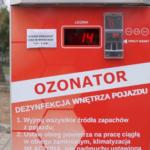 Wirusów nie przewozimy, czyli o ozonowaniu samochodu dla każdego