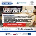 Listopadowe, bezpłatne szkolenie online dla NGO