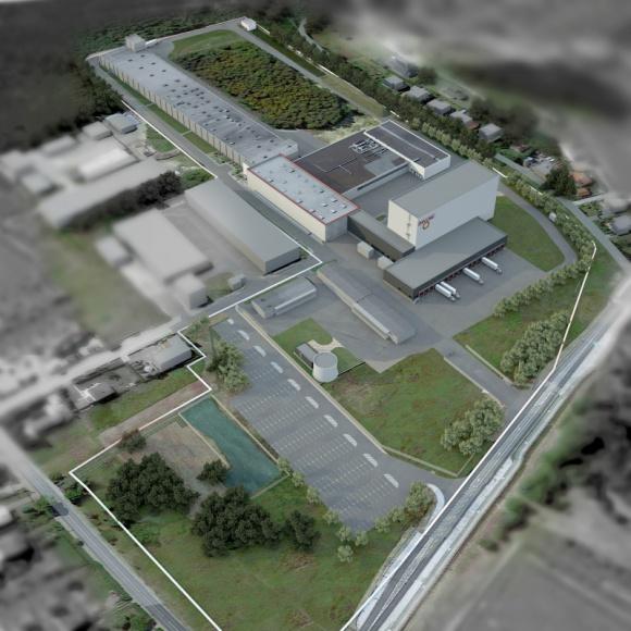 Dan Cake rusza z rozbudową zakładu BIZNES, Firma - Firma Dan Cake Polonia, czołowy producent w branży piekarniczo-cukierniczej w Polsce, rozbudowuje swój zakład w Chrzanowie o własne centrum logistyczne.