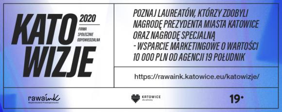 Katowizje 2020 – najlepsze projekty CSR nagrodzone BIZNES, Firma - Znamy Laureatów konkursu Katowizje 2020: Firma Społecznie Odpowiedzialna.