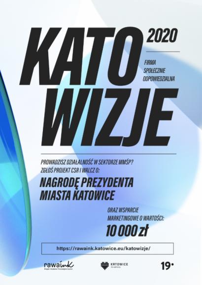 Katowizje 2020 – nabór zgłoszeń przedłużony! BIZNES, Firma - Termin przyjmowania zgłoszeń do konkursu Katowizje – Firma Społecznie Odpowiedzialna został przedłużony.